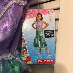Other - Ariel costume deluxe size M (7-8)
